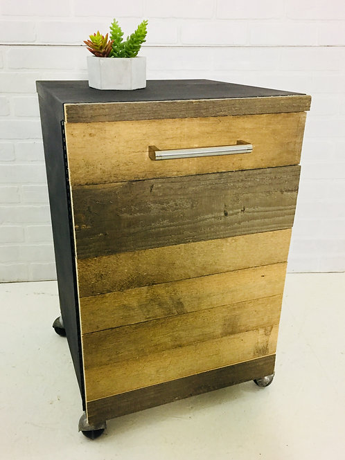 upcycled industrial cabinet (sold)