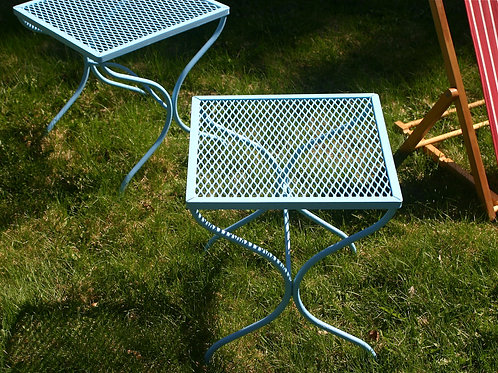 vintage outdoor side tables (sold)