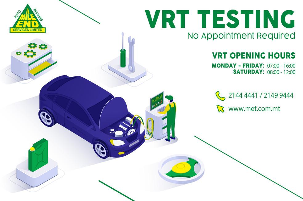 VRT Testing