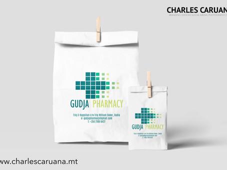 Gudja Pharmacy Paper Bags