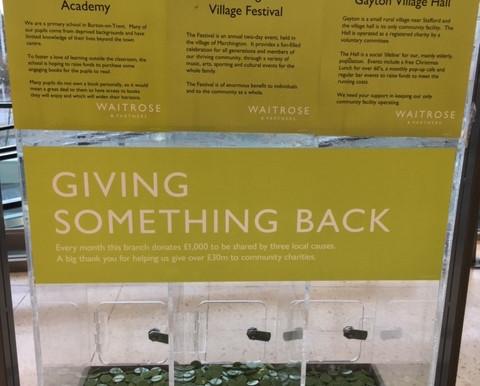 Waitrose Green Token Scheme