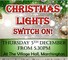 Christmas Lights in Marchington