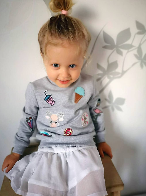 Woolanka for baby|Bluza Pop