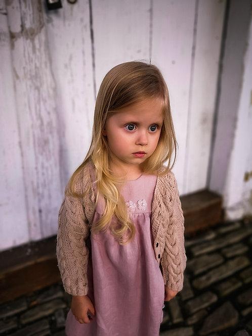 Woolanka for baby|Sukienka Pearls