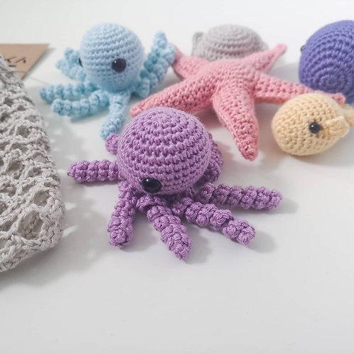 Woolanka for baby|Ocean set
