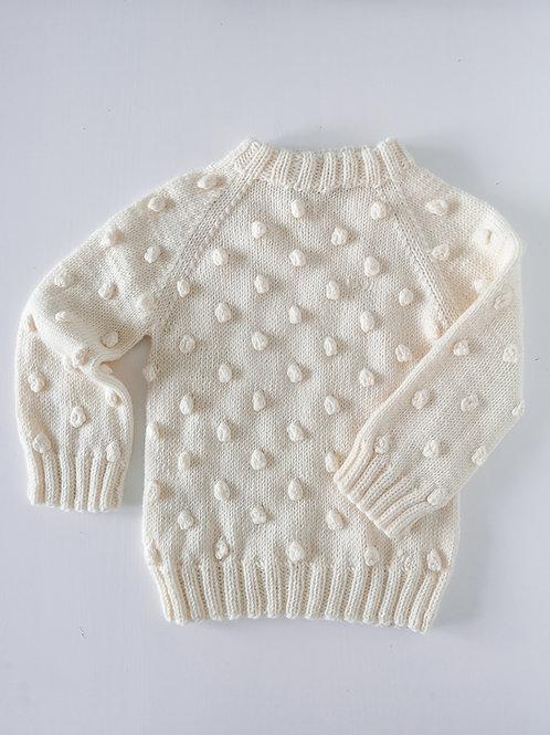 Woolanka for baby|Sweterek Bubbles 110-128 cm