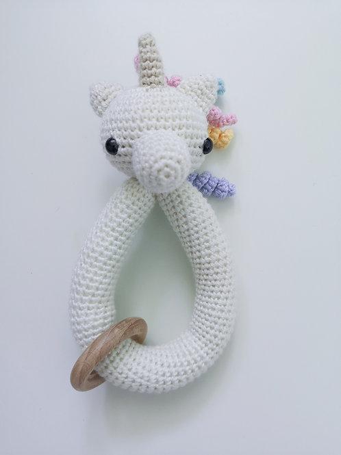 Woolanka for baby|Gryzak duży Jednorożec