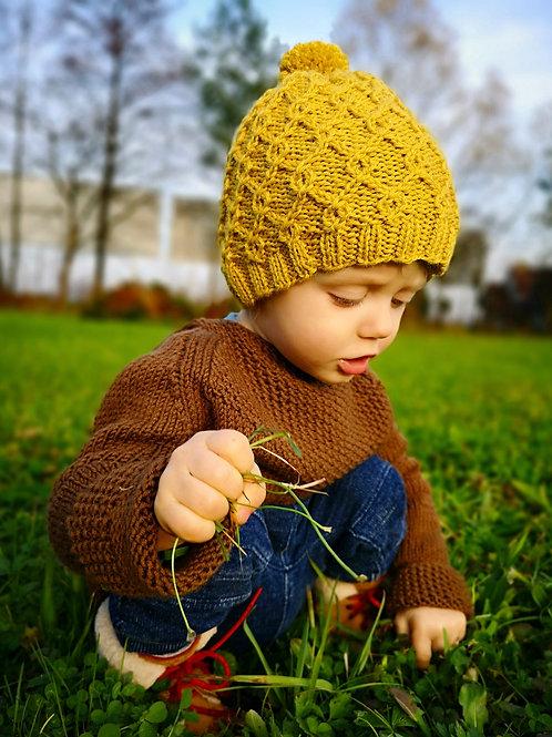 Woolanka for baby|Czapka no.2