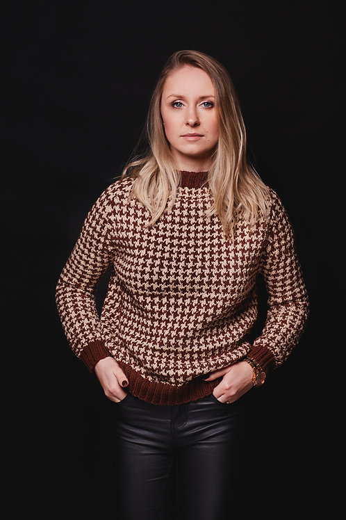 Sweter Pepitka