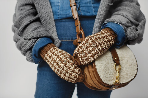 Rękawiczki Merino Pepitka