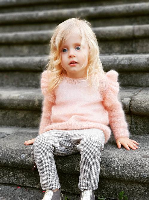woolanka for baby|Sweterek Little Light Butterfly