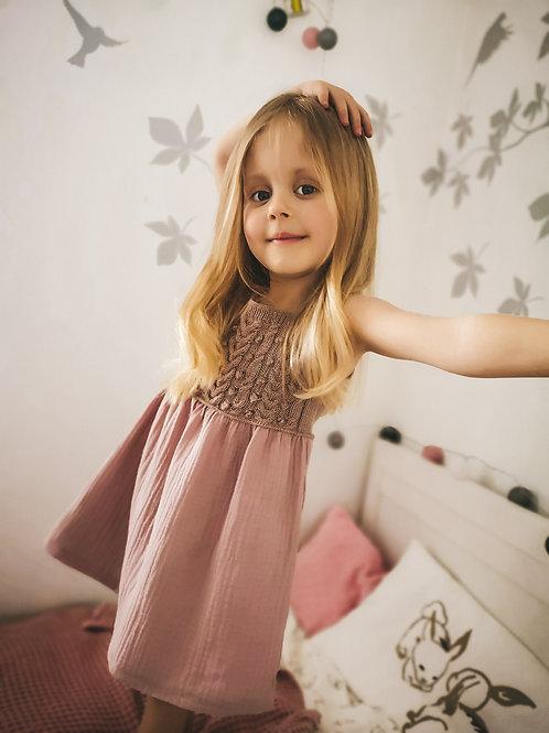 Woolanka for baby|Sukienka Mia