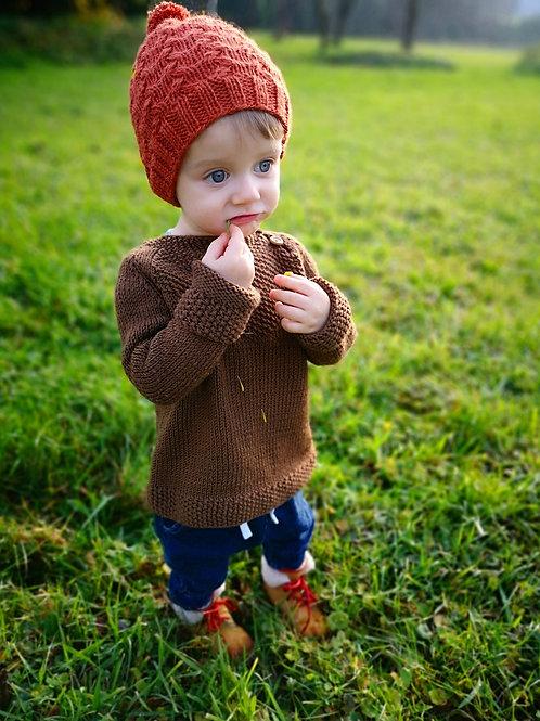 Woolanka for baby|Czapka no. 3