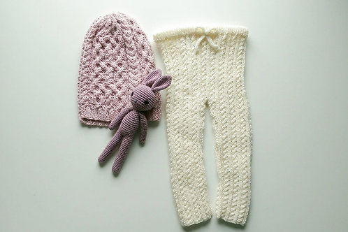 Woolanka for baby|Leginsy little lady