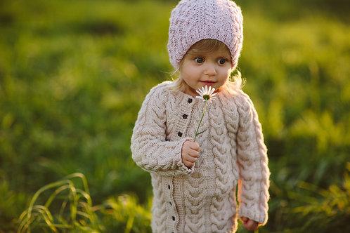 woolanka for baby|Sweterek Little Braids