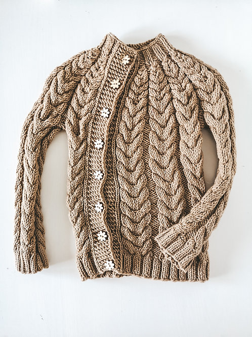Sweter damski Braids