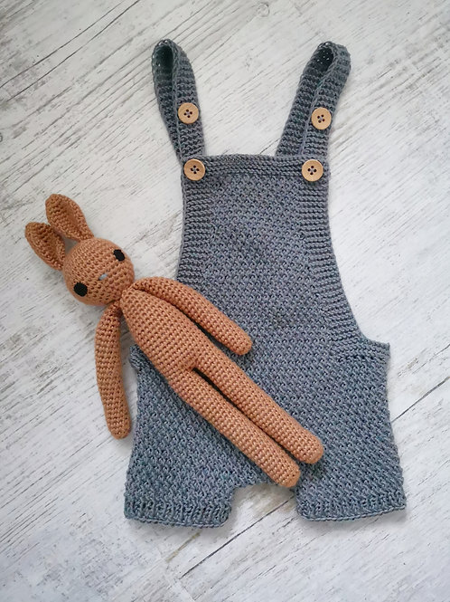 Woolanka for baby Rampers Billy