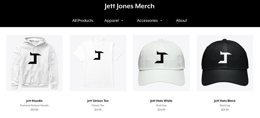 Jett Jones Merch