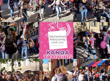 Kangatraining Flashmob al mercato di Bellinzona 2017:-)