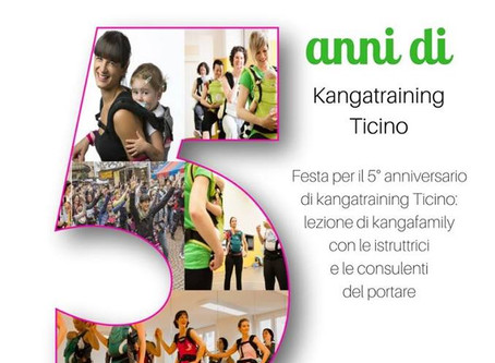 5 anni Kangatraining Ticino