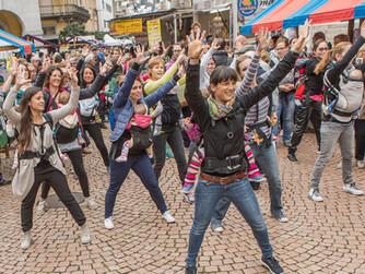 Kangatraining Flashmob a Bellinzona