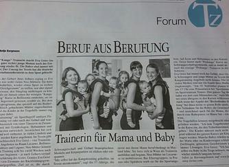 La nostra Eva intervistata sulla Tessiner Zeitung!
