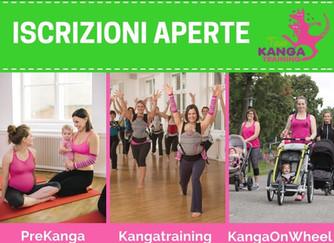 A settembre nuovi corsi di Kangatraining, KangaOnWheel e PreKanga