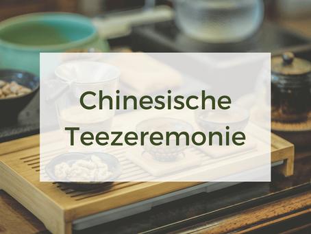 So läuft eine chinesische Teezeremonie ab