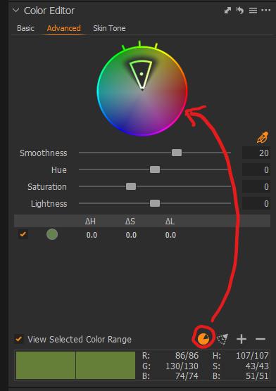 Color Editor Advanced omgekeerde taart.p