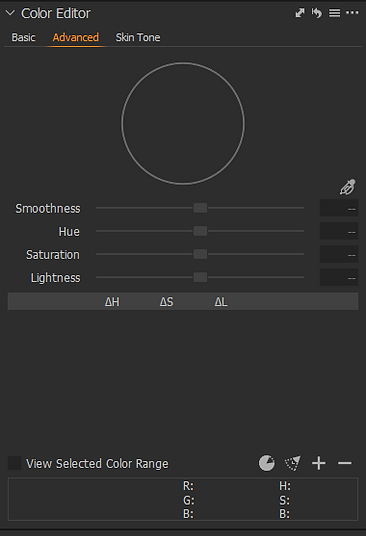 Color Editor Advanced Panel Start.png