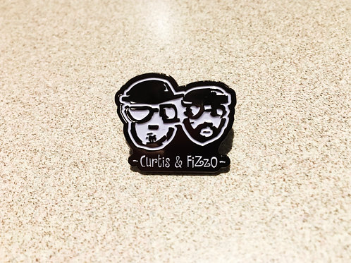 ~Curtis & FiZzO~ ENAMEL PIN!!