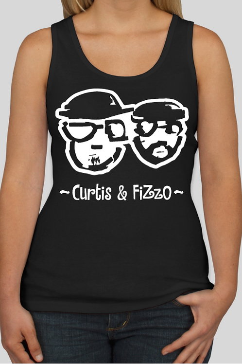 Curtis & Fizzo Ladies Tank Top (Black)