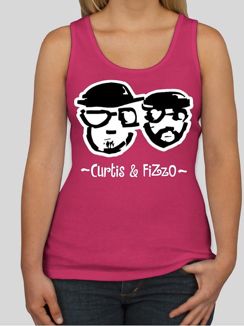 Curtis & Fizzo Ladies Tank Top (Pink)