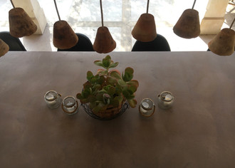 TABLE BÉTON