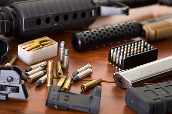 Bullets and a firearm. Bullets are a pro