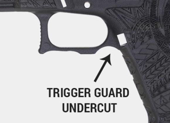 Trigger Guard Undercut
