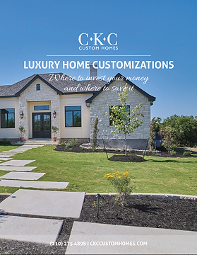 Luxury Home Cusomization Bookle