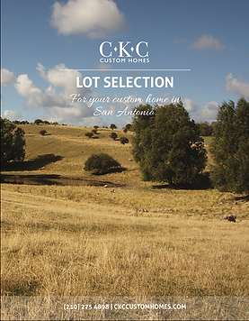 Lot Selection Booklet