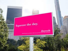 Lemonade Insurance Campaign