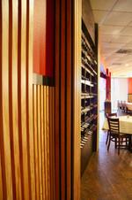 Yummi Sushi Wine Wall