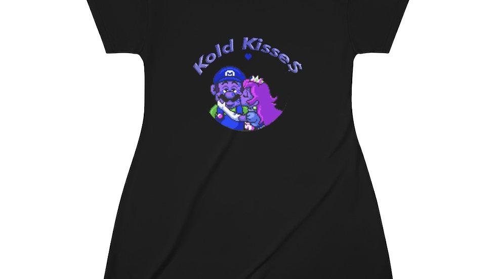 Peach Kisse$ T-Shirt Dress