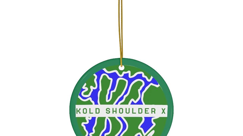 Grinch X-Mas * Ceramic Ornaments
