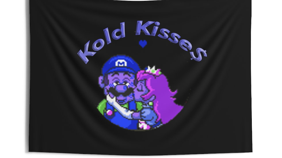 Peach Kisse$ Indoor Wall Tapestries