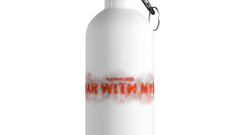At War With Myself X Stainless Steel Water Bottle