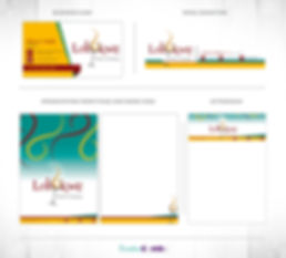 Lobukwe Events Company Corporate Identity Design