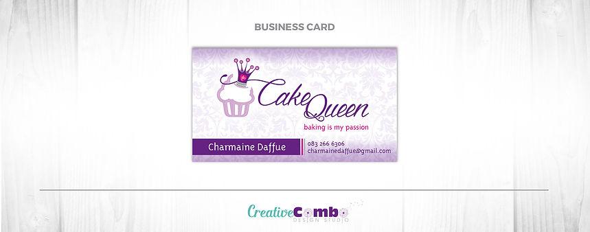 Cake Queen Coporate Identity Design