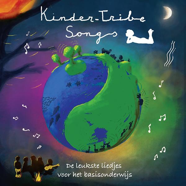 Kinder-Tribe Songs omslag.png