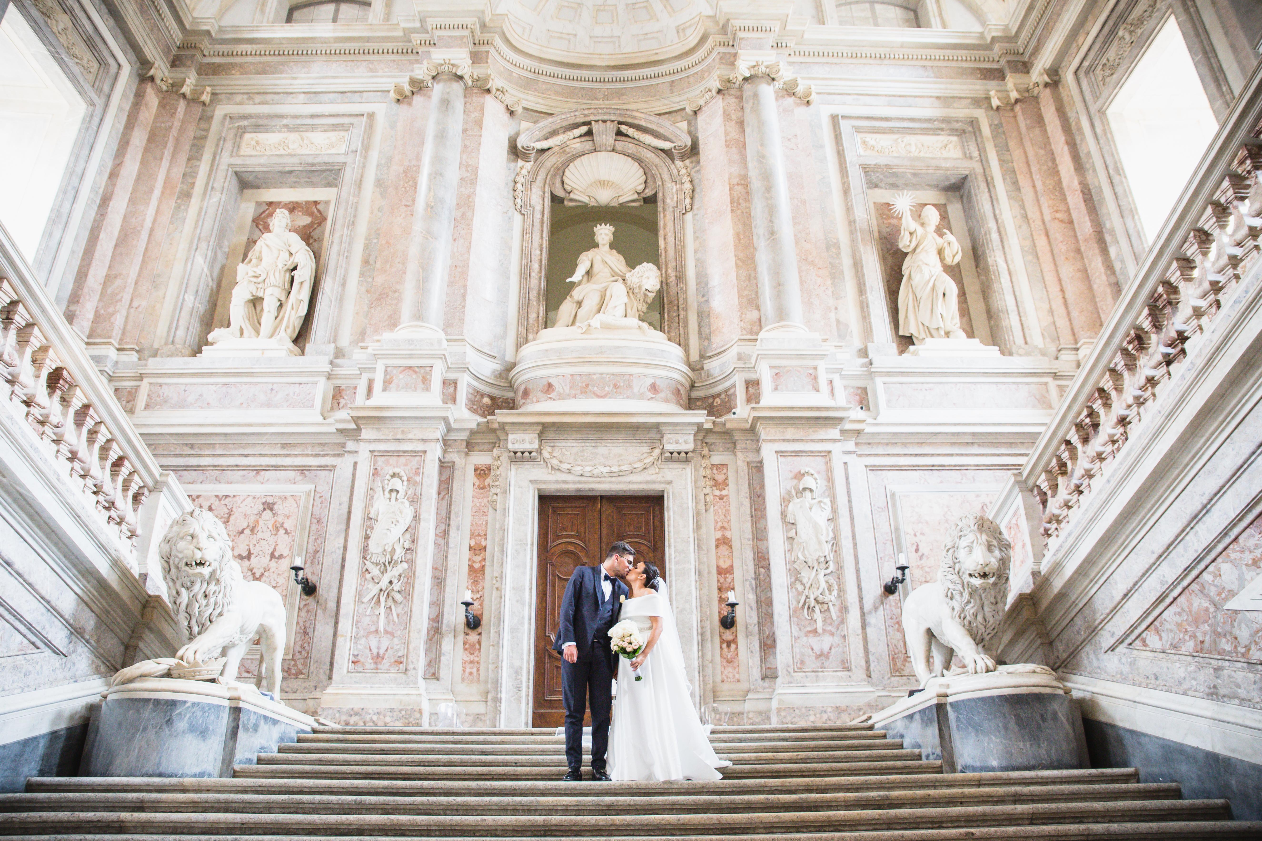 sposi reggia di caserta