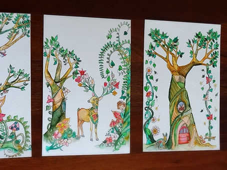 Fairy-Visited Enchanted Forest Series is complete.