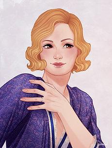 Portrait Madeline Hoover